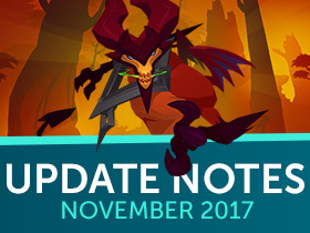 Update Notes: The Infernal Hunt - November 2017