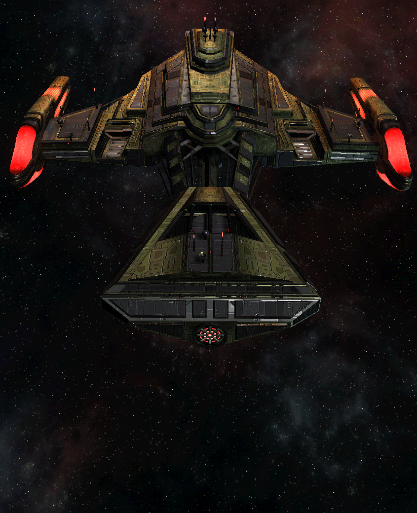 Klingon Command Ship 25