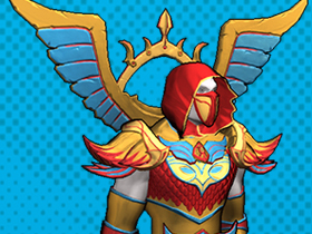 Champions Online: Shining Crusader Costume Pack