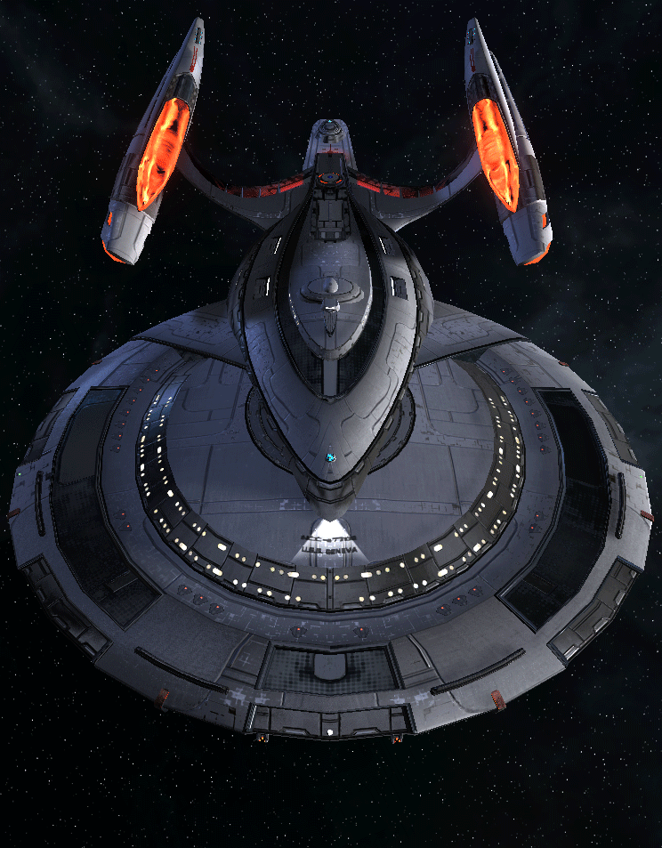Starfleet Federation Command Ship 4