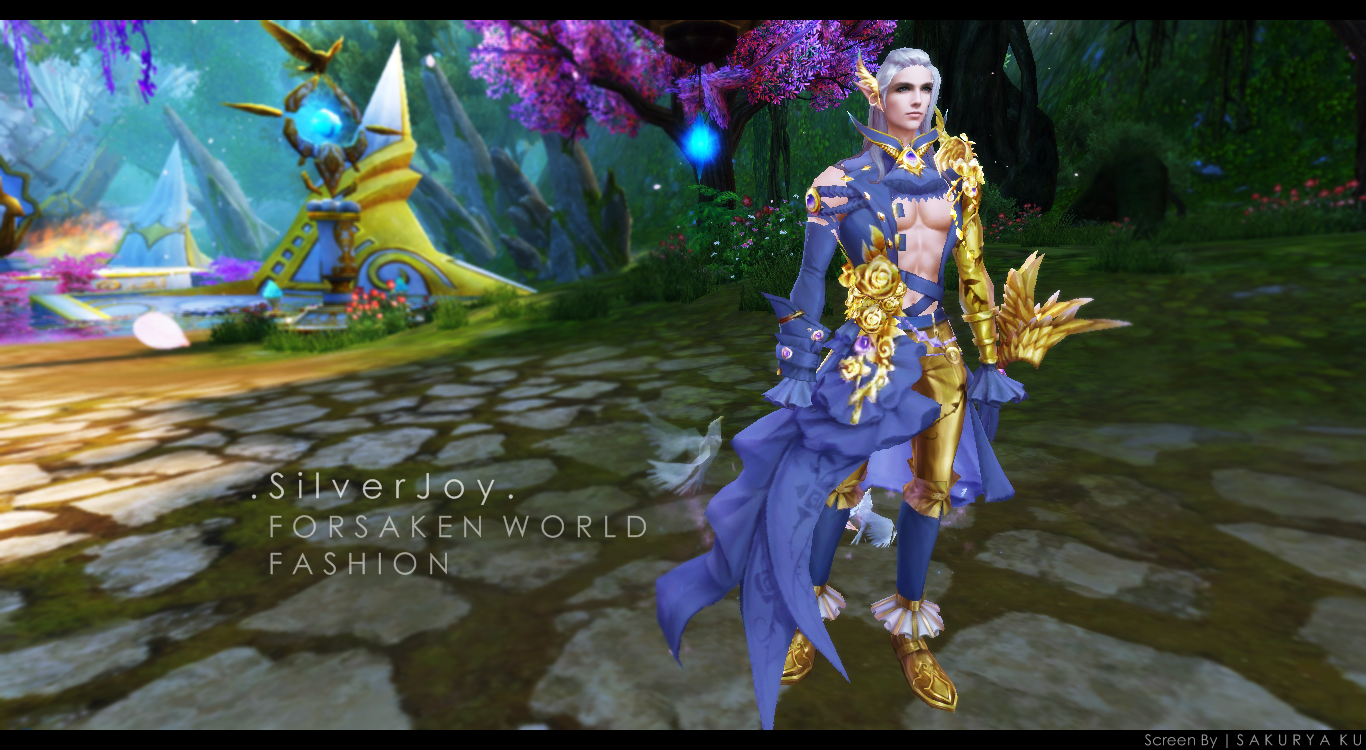 Fashion : SilverJoys (Male set )