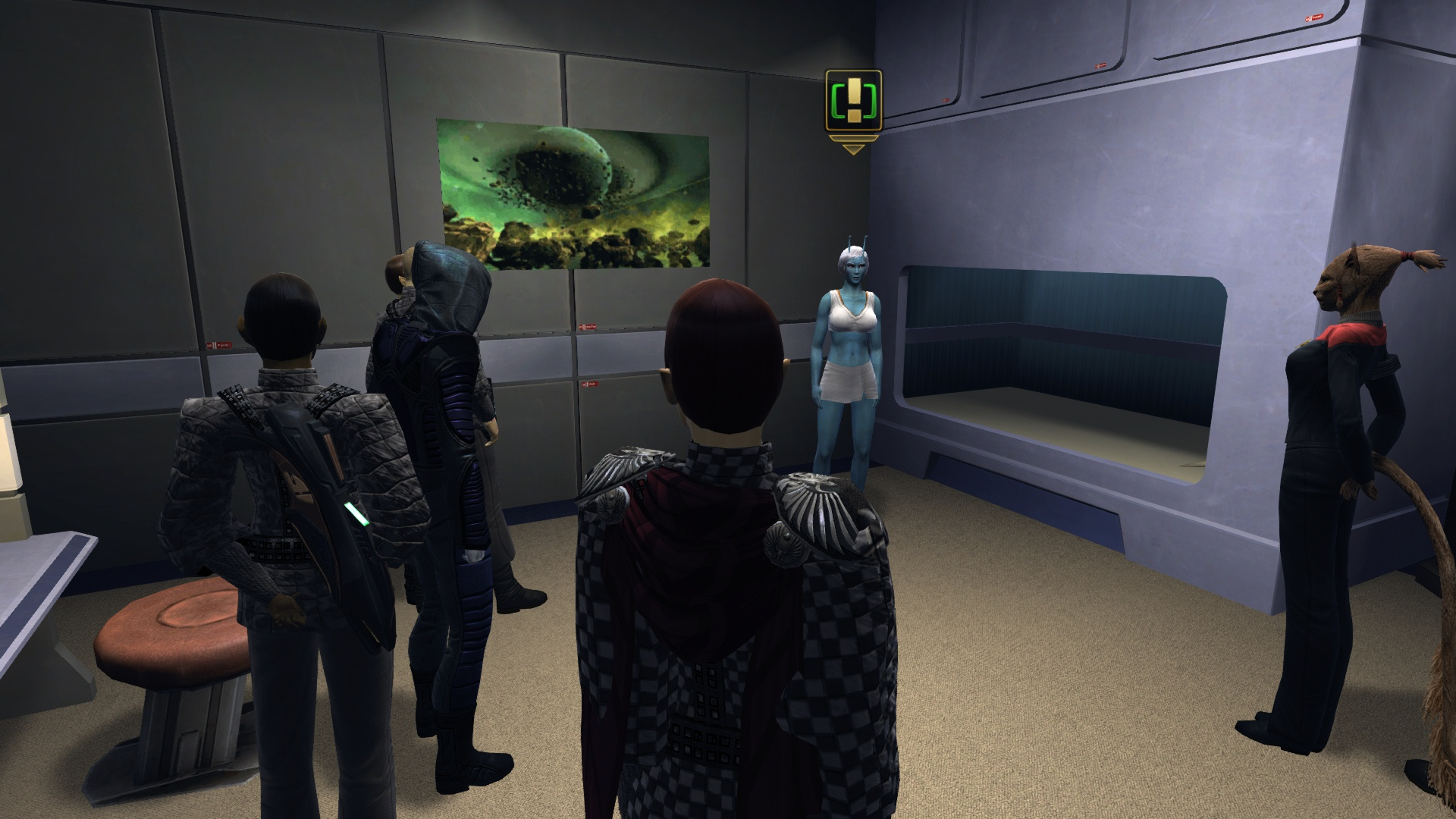 Meeting with a Starfleet Specialist