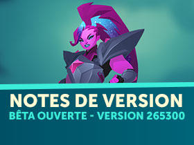 Notes de version GIGANTIC 23/02
