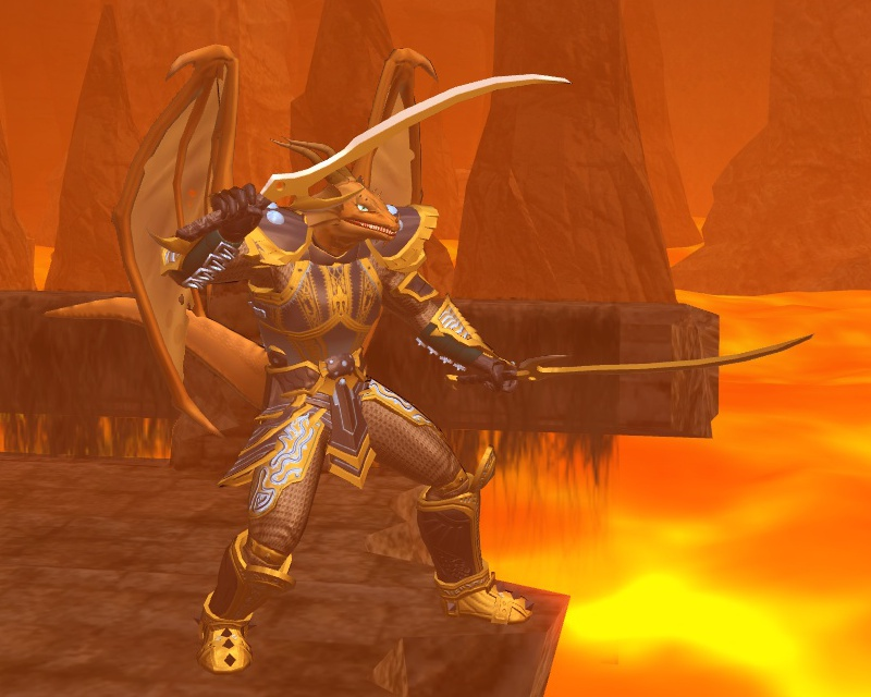 Tirados, the Battle Dragon