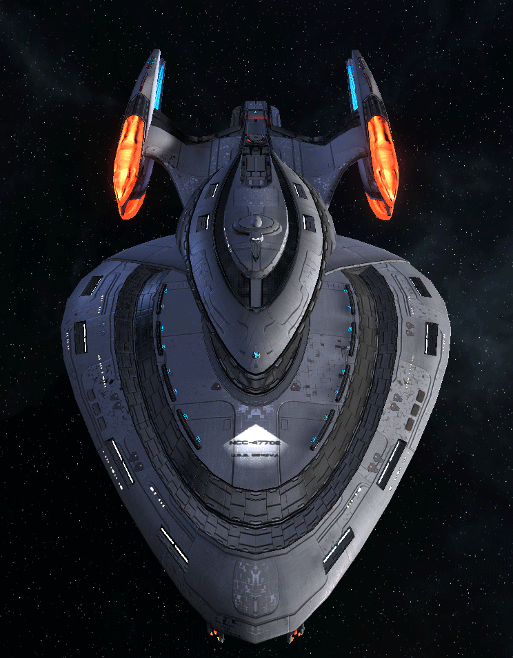 Starfleet Federation Command Ship 10