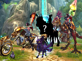 Create your own Mount or Pet