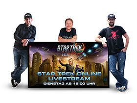 Star Trek Online Livestream auf Twitch.tv