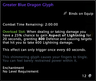 Greater Blue Dragon Glyph