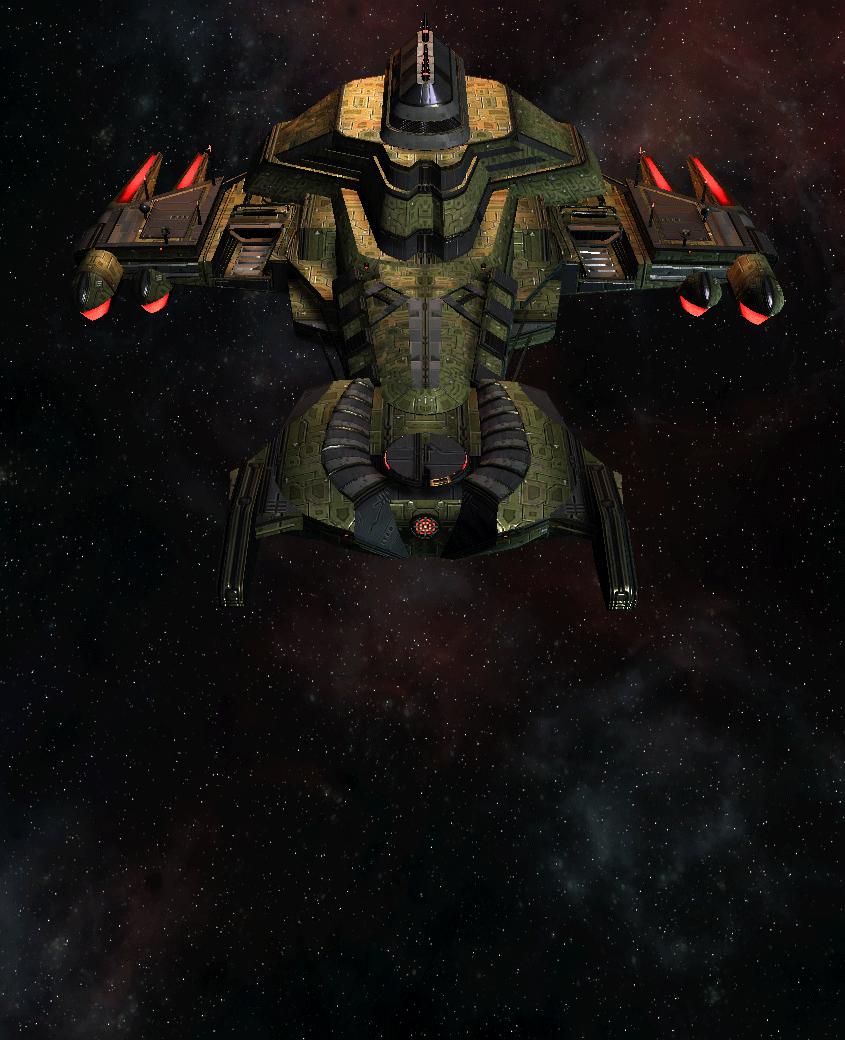 Klingon Command Ship 17