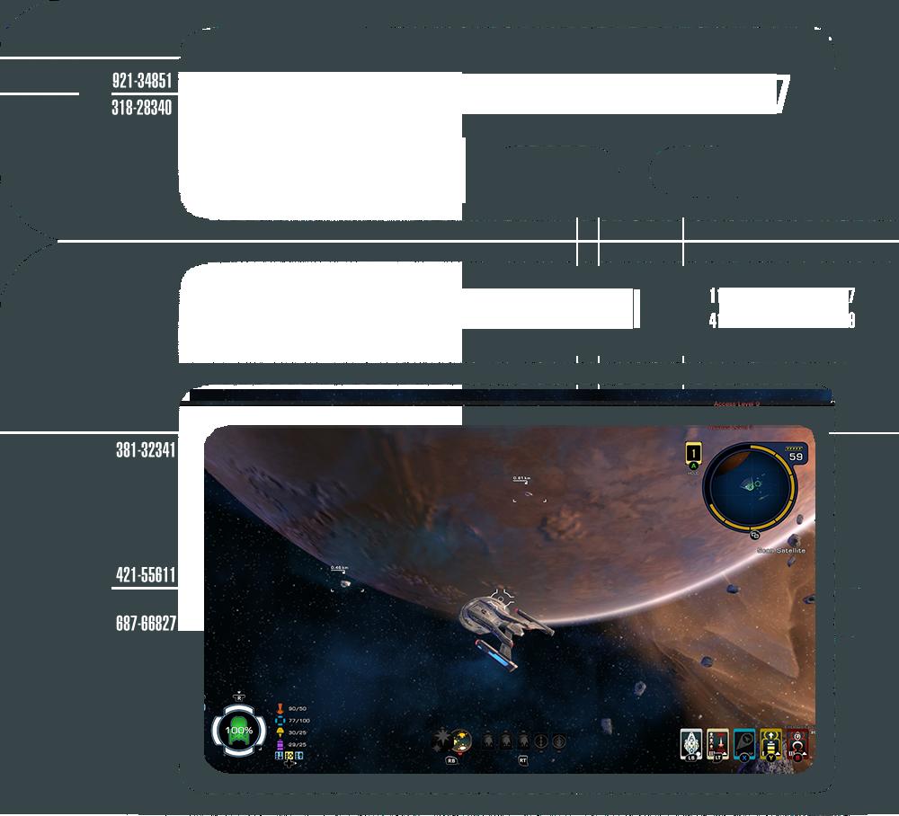Star trek online console space ui star trek online - Star trek online console ...