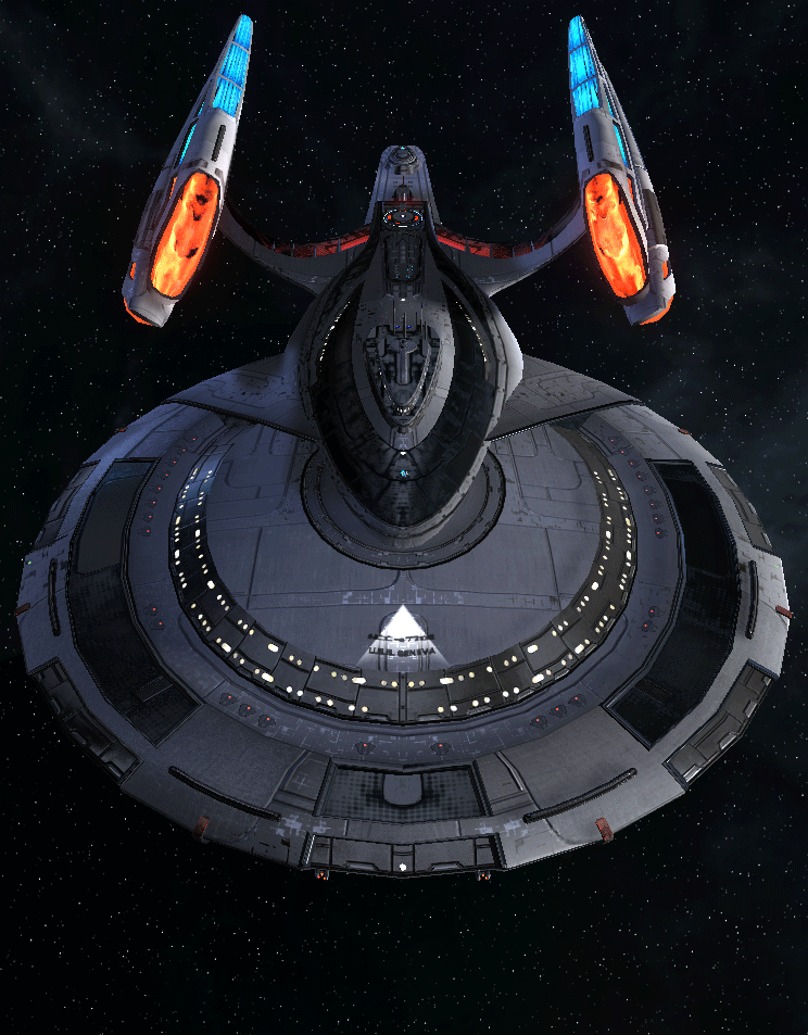 Starfleet Federation Command Ship 3