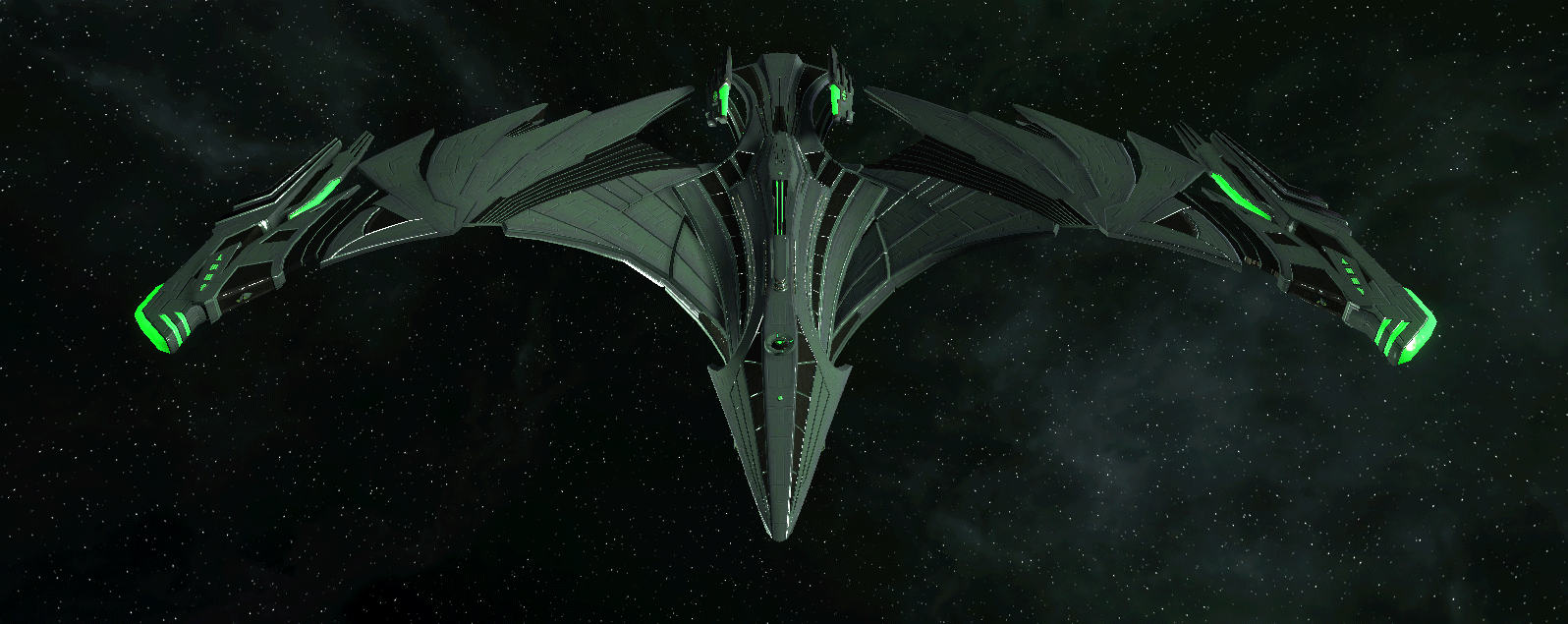 Romulan Command Ship 12