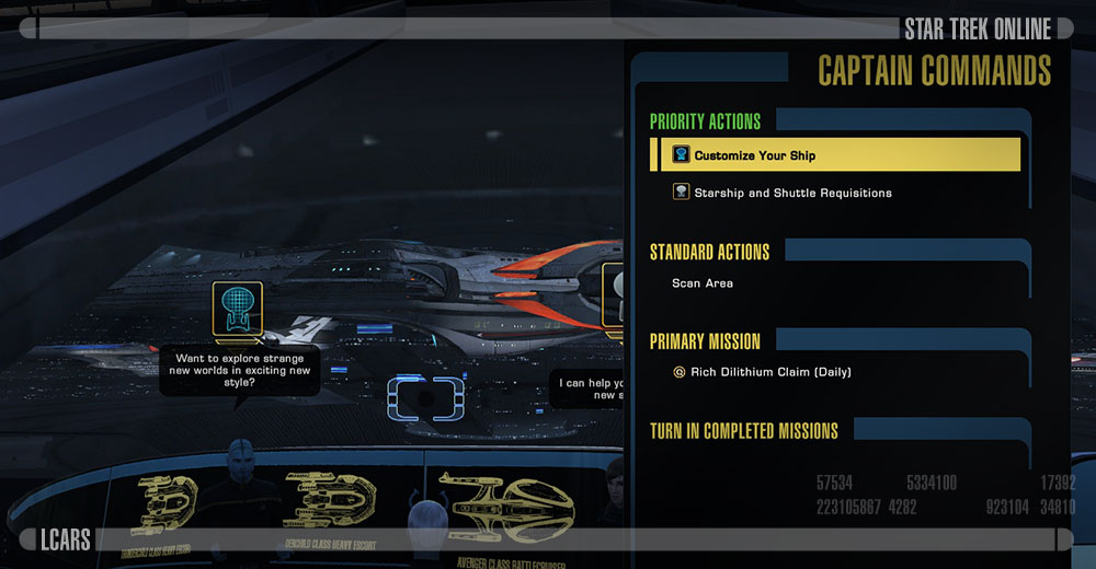 Sto sur console naviguer dans l 39 interface - Star trek online console ...
