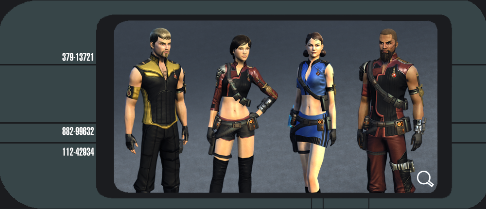 Captains can purchase Mirror Universe Uniforms including variants of the Odyssey Bortasquu0027 and Romulan uniforms as worn by their Mirror counterparts ...  sc 1 st  Serenity Station & Star Trek Online: Anniversary Event