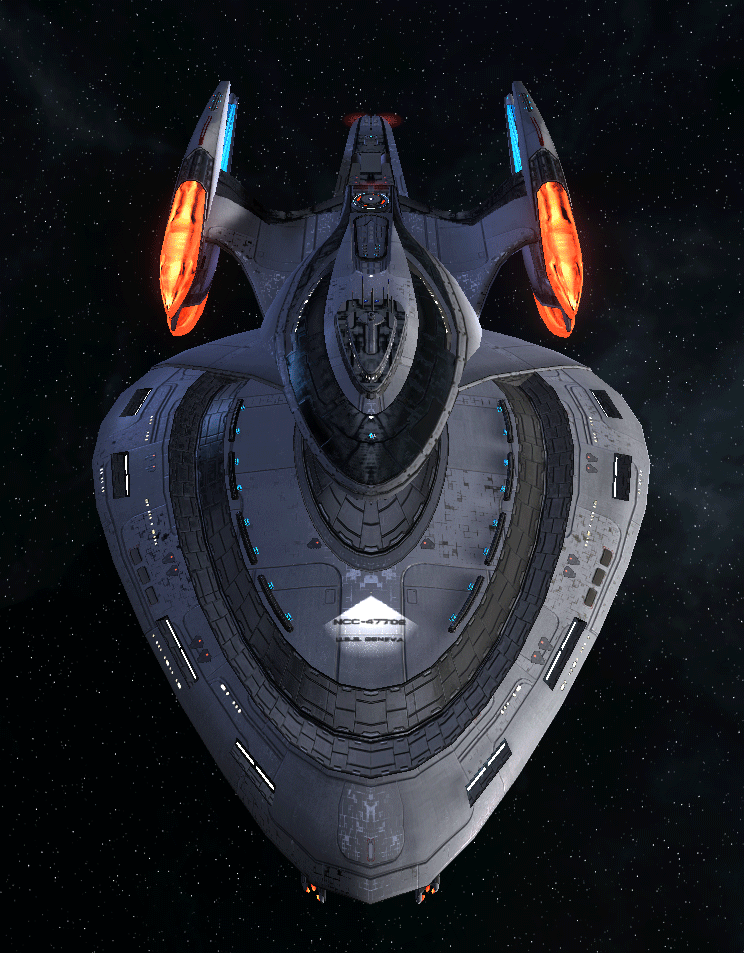Starfleet Federation Command Ship 9