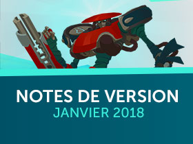 Notes der version, janvier 2018