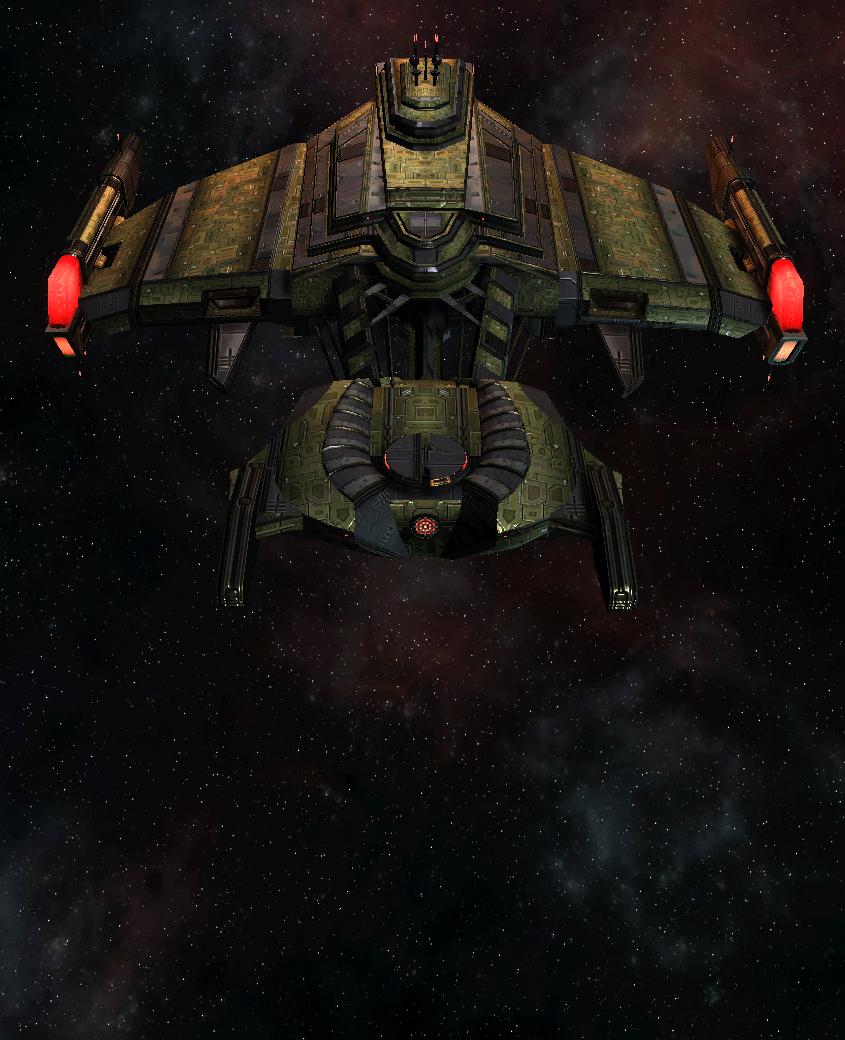 Klingon Command Ship 12