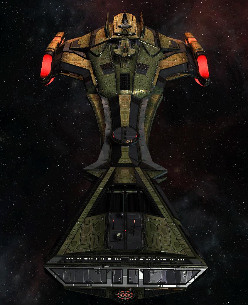 Klingon Command Ship 22