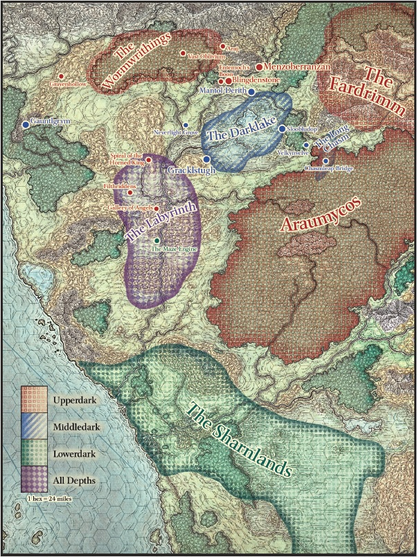 Forgotten Realms - Realms Of The Underdark