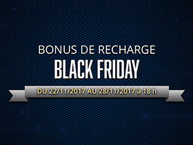 Bonus de monnaie virtuelle du Black Friday