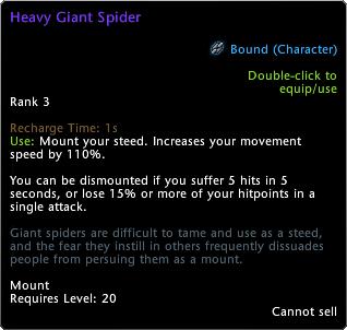 Ragno gigante dorato