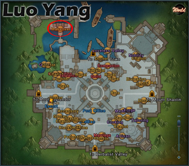 Luo Yang Map, Blossom
