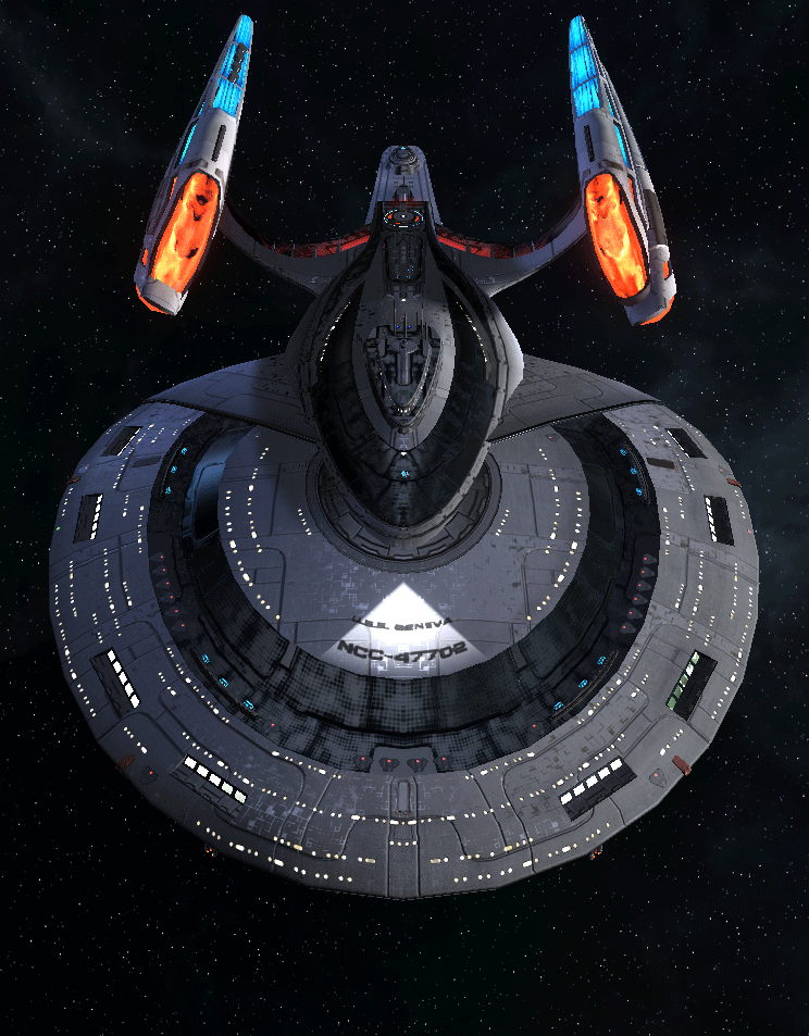 Starfleet Federation Command Ship 17