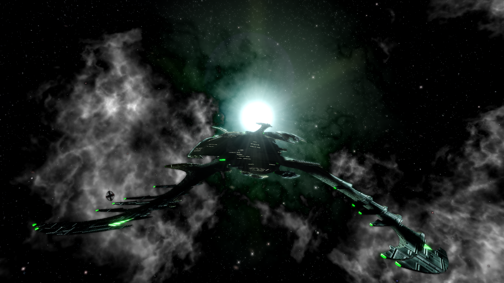Romulan Flambard Science Dreadnought Warbird