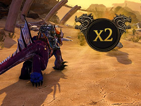2x Ruhm und 2x Tyranny-of-Dragons-Währung