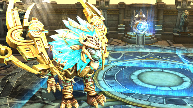 Final Boss Fight Regulus awaits within the Zodiac Temple