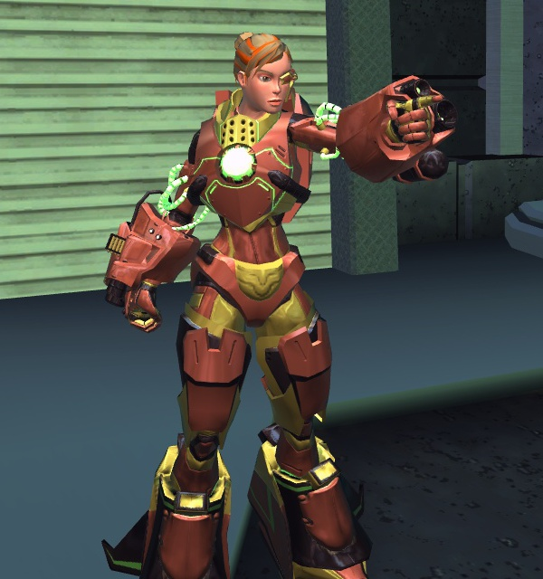 Amber Hatcher, the Firefly Pilot