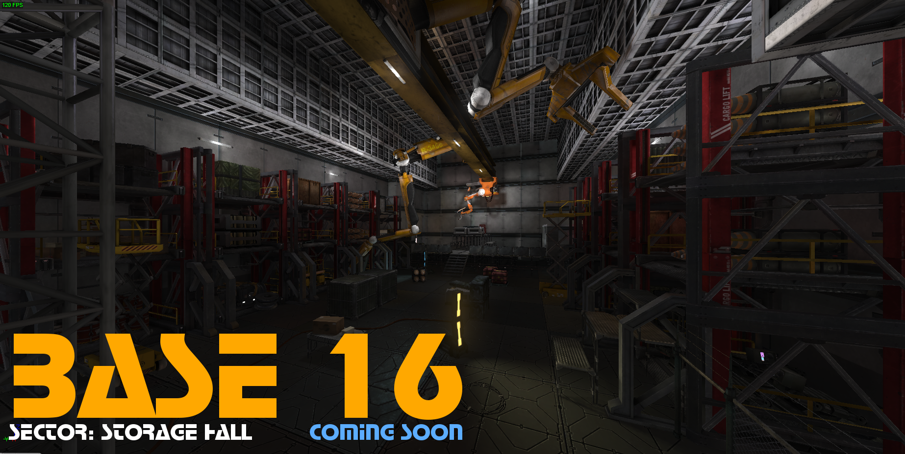 Base 16 | Sector: Storage Hall | coming soon
