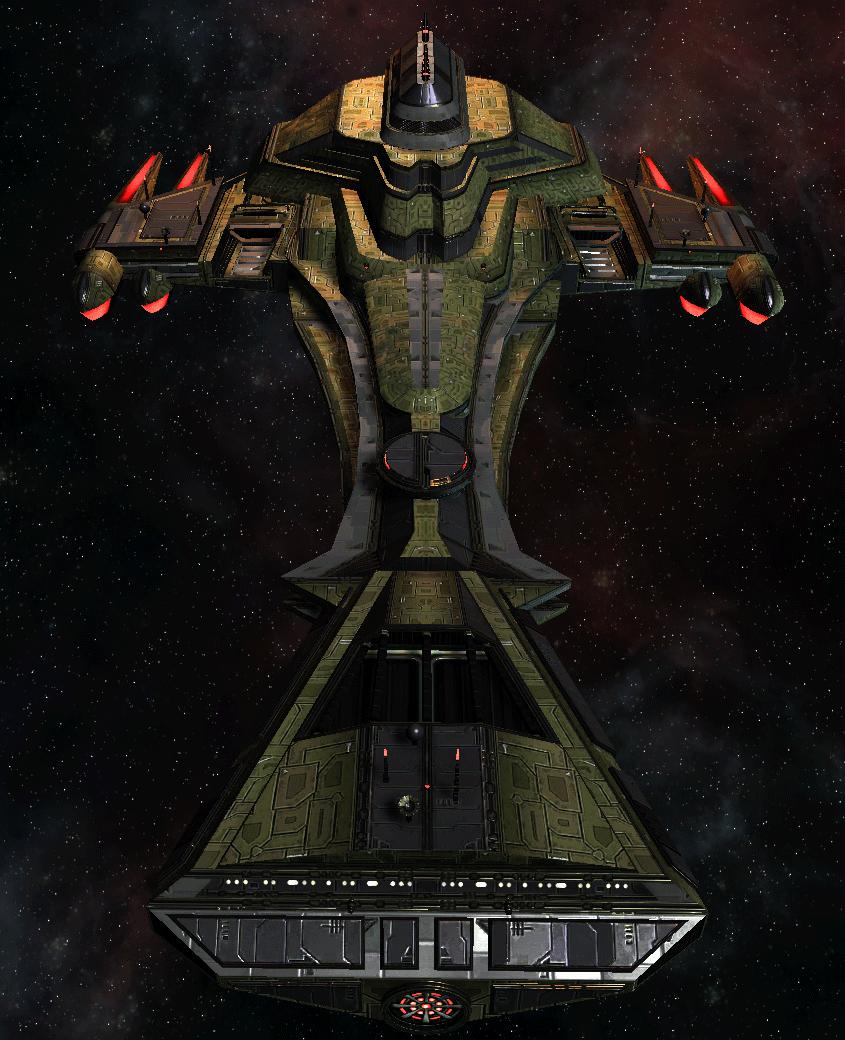 Klingon Command Ship 19