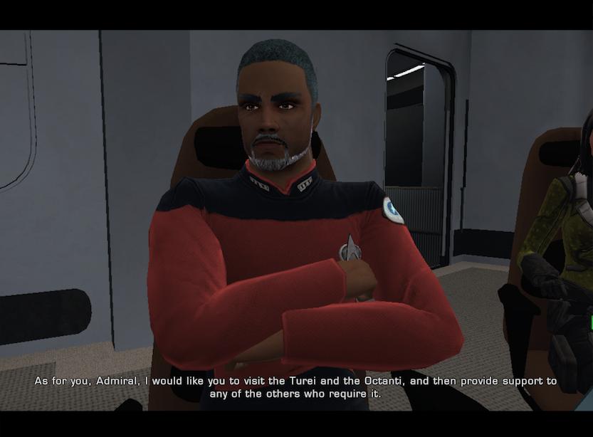 Mission Briefing, Morgan Freeman