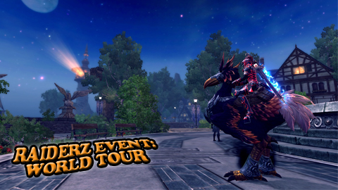 RaiderZ - North America Banner-Tour-Text