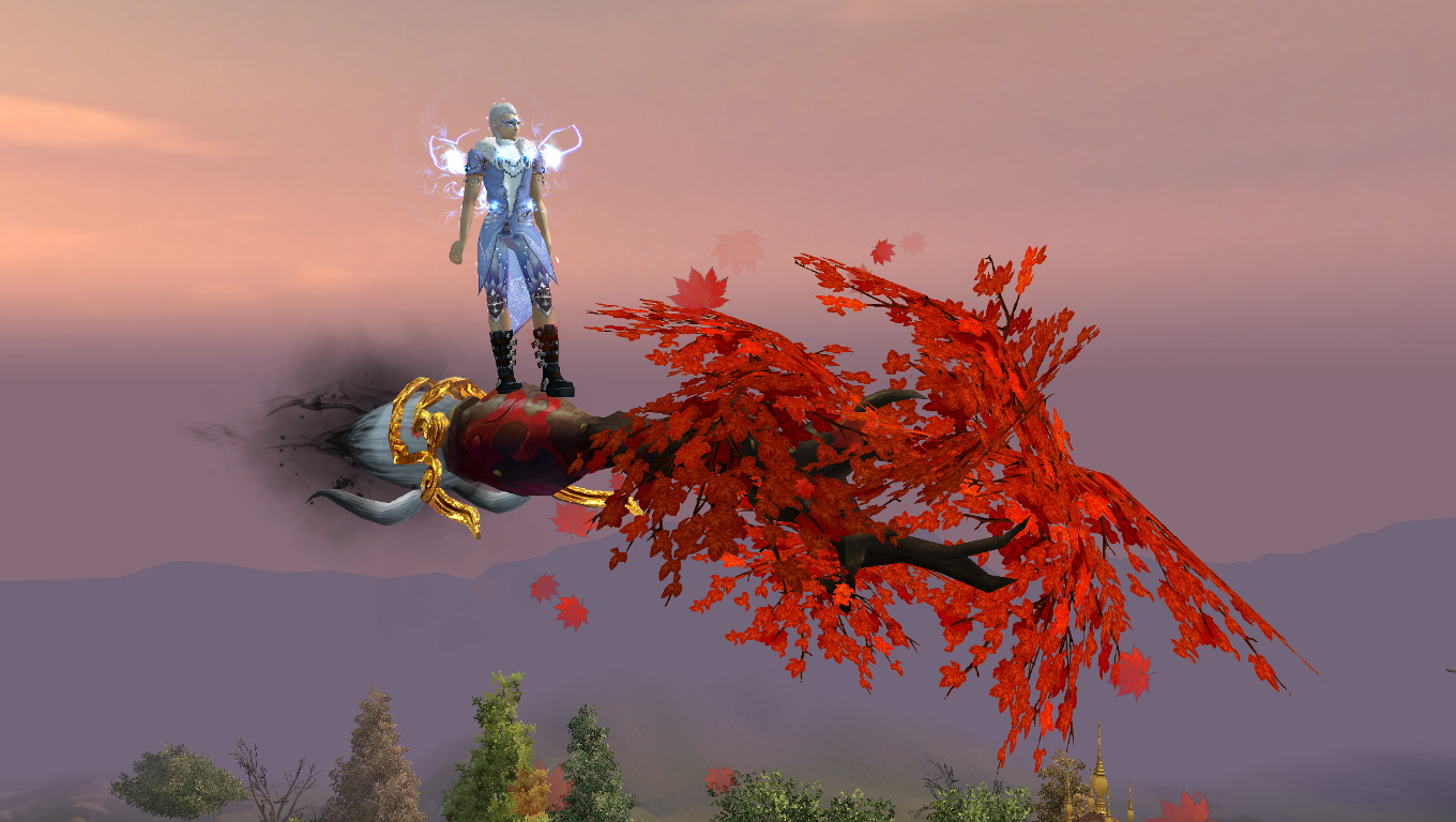 PWI, free MMORPG, PWI flyer, flying mount