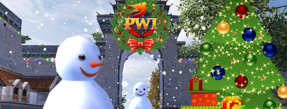 PWI winter, PWI holiday, holiday events, winter events, Free MMORPG