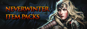 Become a Hero in Neverwinter by purchasing packs for your in-game character!