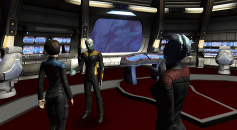 Star Trek Online F2P Sci-fi MMORG game