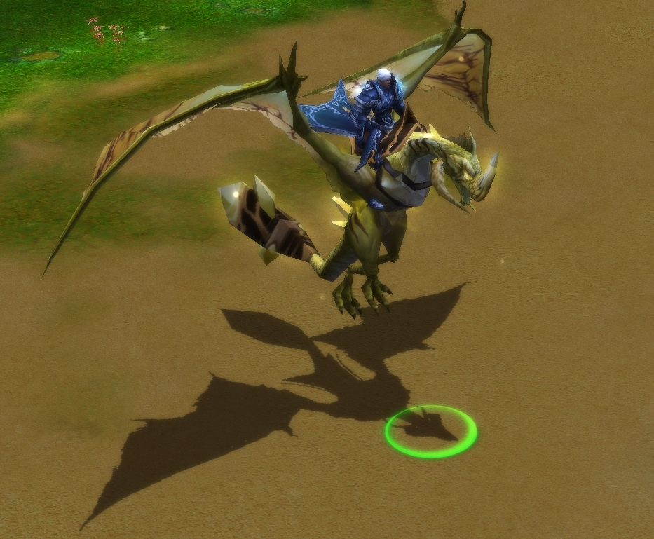 War of the Immortals Icehorn Dragon Mount