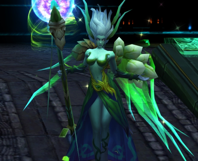 Earth Elf, one of War of the Immortals combat pets that is only found within the Earth Elf's Set Packs