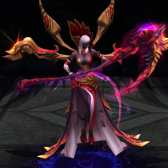 The godly Dark Venus combat pet in War of the Immortals is one of the most fearsome pet to date!