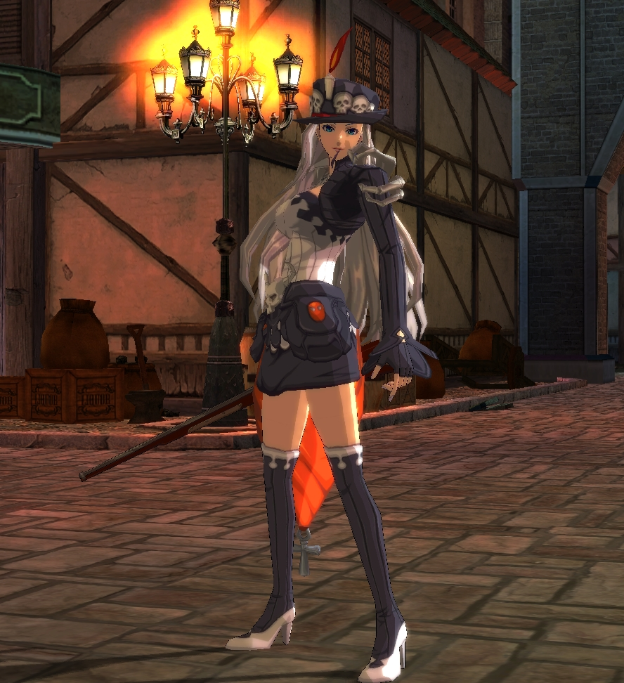 Natasha Halloween Costume, Free Action MMORPG, online game, free download, Rusty Hearts