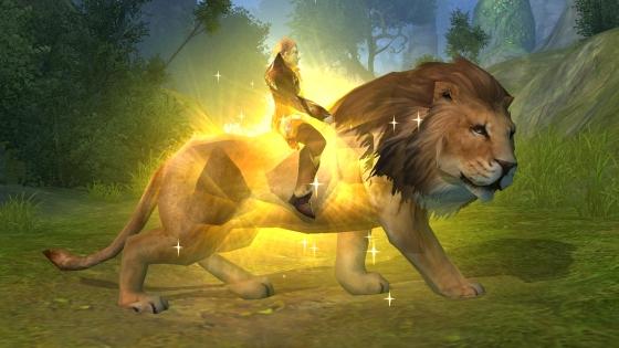 Goldmane Lion, PWI