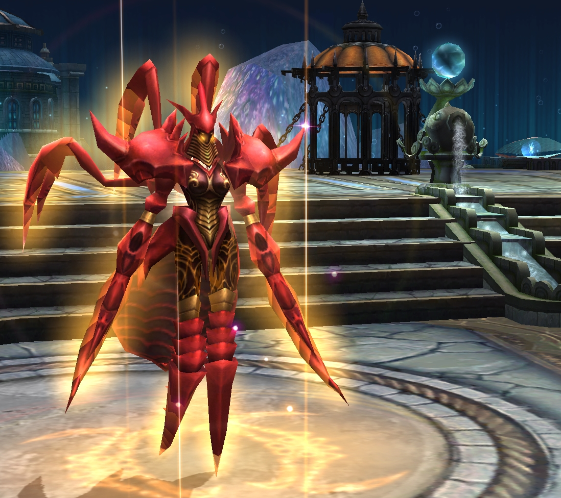 Battle of the Immortals Cancer Zodiac Pet