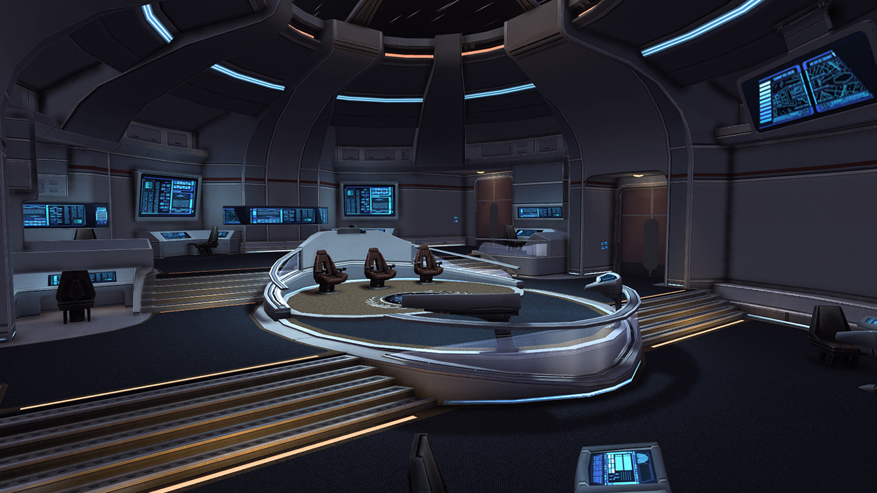 Star Trek Online Hits Consoles This Fall on Star Trek Deep Space Nine Interior