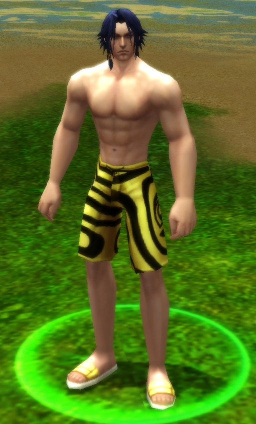 Male Beachwear for War of the Immortals