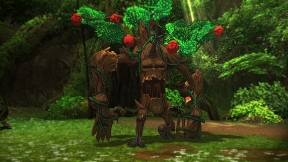 new reborn apple monster forest enemy image
