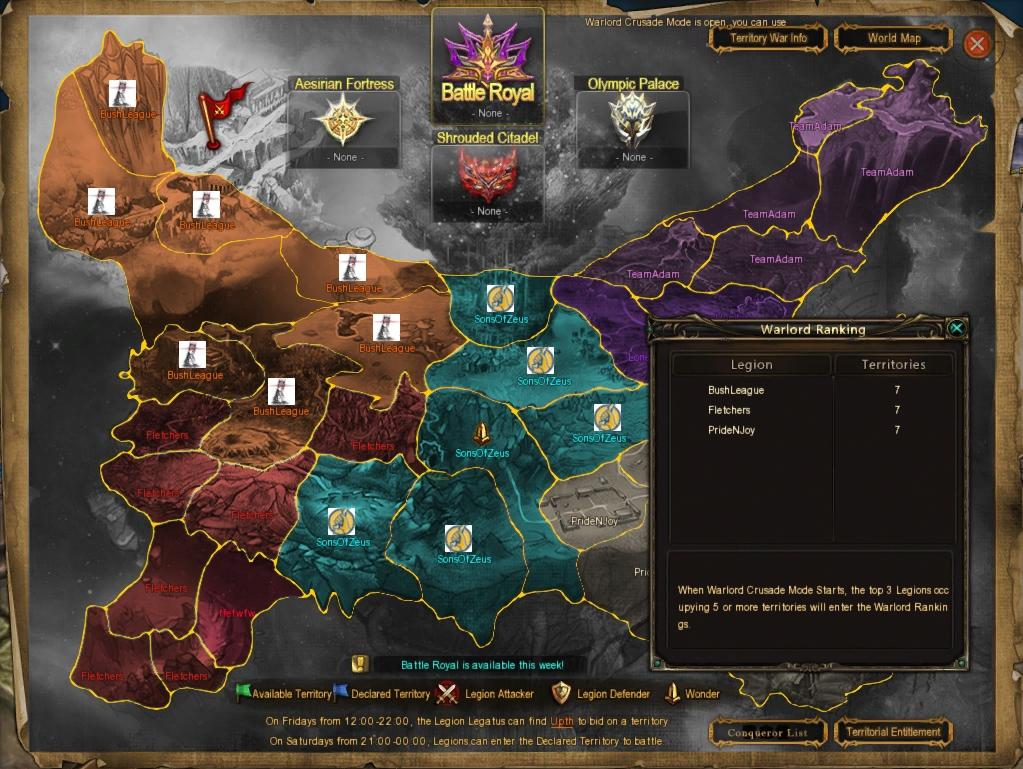 tertory war