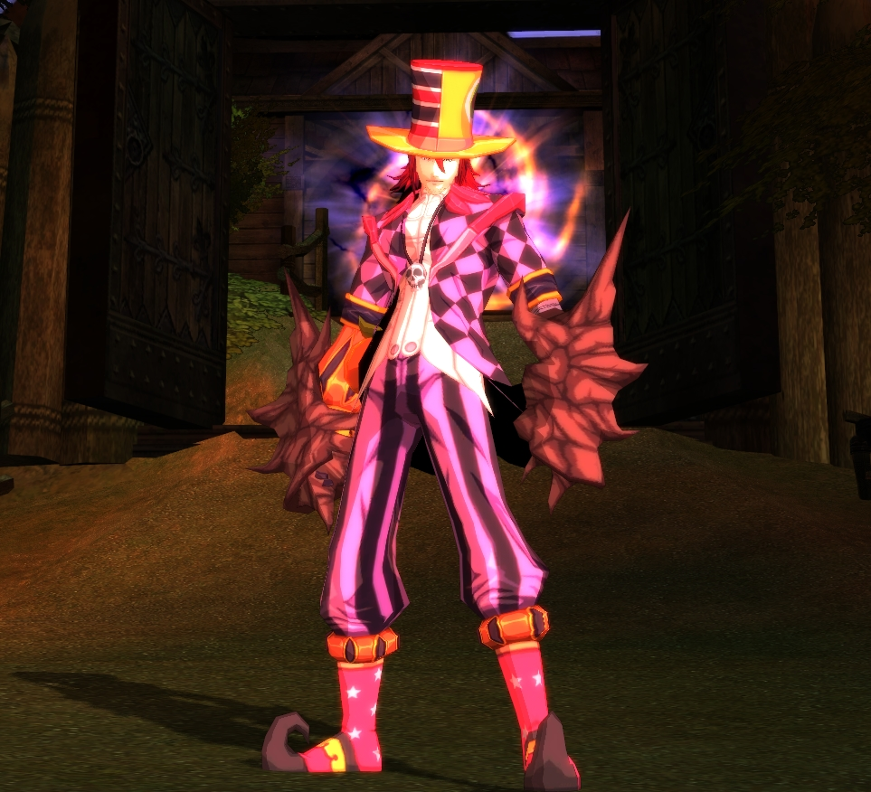 Tude Halloween Costume, Free Action MMORPG, online game, free download, Rusty Hearts